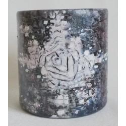 Vase design abstrait
