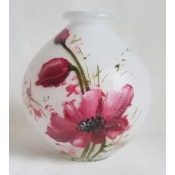 Vase décoratif coquelicots 4
