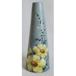 Vase trapèze fond gris