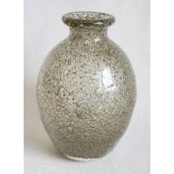 Vase abstrait design bulles