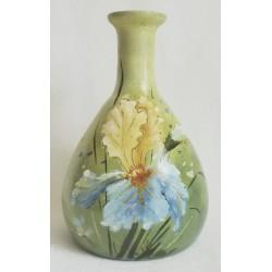 Vase embossed summer landscape