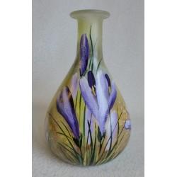 Vase décoratif paysage d'été