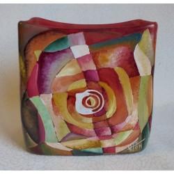 Vase décoratif  à motifs géométriques 1