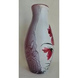 Vase décoratif de deux faces différentes