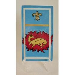 Tableau salamandre et signe royal