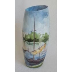Vase Val de Loire design biseauté