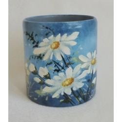 Vase décoratif marguerites 5