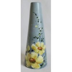 Vase trapèse fond gris
